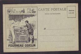 CPA Publicité Chat Cat Fourneau Odelin Non Circulé - Werbepostkarten