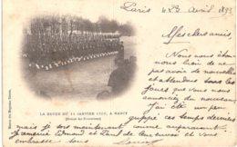NANCY .... LA REVUE DU 14 JANVIER 1898 - Nancy
