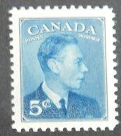 "CANADA YT 240 NEUF* MH ""GEORGE VI"" ANNÉES 1949/1951 - 1937-1952 Règne De George VI"