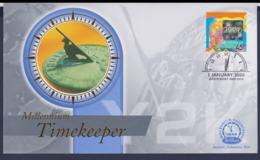 Australia Cover Millennium Timekeeper Turn Of The Millenium Hologram Stamp  (NB**LAR9-161) - Namibia (1990- ...)