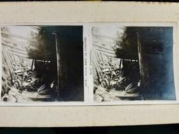 Photo STEREO Ww1 WwII 1914 1918 : Repos Dans La Tranchée _ POILUS _ N°2606 - War, Military