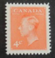 "CANADA YT 239A NEUF* MH ""GEORGE VI"" ANNÉES 1949/1951 - 1937-1952 Règne De George VI"