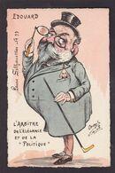 CPA Orens Satirique Caricature Non Circulé Tirage Limité Angleterre Kaiser - Orens