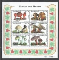 PK269 1998 NICARAGUA FLORA NATURE MUSHROOMS HONGOS DEL MUNDO 1KB MNH - Pilze