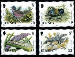 (021) Jersey 2000 / Wwf / Animals / Animaux / Tiere / Dieren ** / Mnh  Michel 1143-46 - Jersey