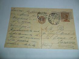Italia REGNO INTERO POSTALE  1932  VIAGGIATA DA  MONZA A VARAZZE - Stamped Stationery