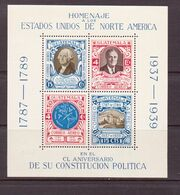 GUATEMALA 1938 HOMMAGE AUX USA  YVERT N°B31  NEUF MNH** - Guatemala