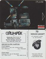 57/ Czechoslovakia; C15. Dummy (without Chip) - Tchécoslovaquie