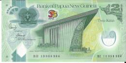 NOUVELLE GUINEE - 2 Kina Polymer 35 Ans 1973-2008 UNC - Papoea-Nieuw-Guinea