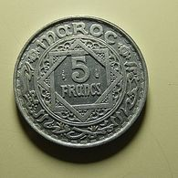 Morocco 5 Francs 1370 - Morocco