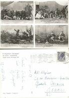 8° Regg.Bersaglieri Div. Ariete Pordenone Quadri Storici Cart.Viaggiata 10nov59 - Regimente