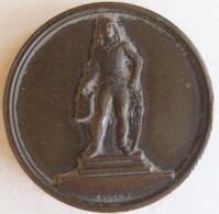 Médaille Ville De Chartres 1851 Au General Marceau, Par Claque - Royaux / De Noblesse