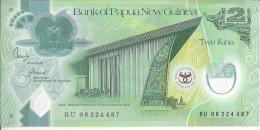 NOUVELLE GUINEE - 2 Kina Polymer Anniversaire 1973-2008 UNC - Papoea-Nieuw-Guinea