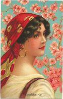 XW 3613 Ragazza Girl Femme Frau Chica Pin Up - Illustrazione Illustration - Riproduzione Reproduction / Non Viaggiata - Pin-Ups