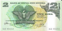 NOUVELLE GUINEE - 2 Kina UNC - Papoea-Nieuw-Guinea
