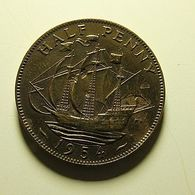 Great Britain 1/2 Penny 1954 - C. 1/2 Penny