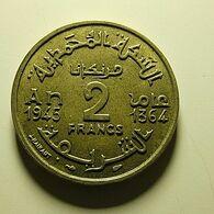 Morocco 2 Francs 1945 - Maroc