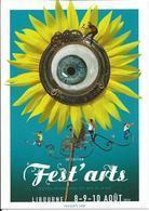 CP Pub Fest'arts, 28é édition 8-9-10 Août 2019, LIBOURNE (33) - Libourne
