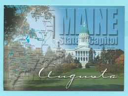 2242 - AMERIKA - USA - MAINE - AUGUSTA - STATE CAPITOL BUILDING - Etats-Unis