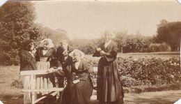 Photographie Originale Particulier 1913 Morbihan Roscledan Arradon Coiffes & Costumes Bretons  Ref 1065 - Frankreich