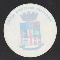 Stikers Esercito Italiano Regione Militare Nord Stemma Italian Army Northern Military Region Coat Of Arms Armée FAS00080 - Sammelbilder, Sticker
