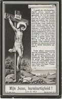 DP. ROSALIE BRAET ° SCHUYFFERSKAPELLE 1833- + ST JOORIS-TEN -DISTEL 1921 - Religione & Esoterismo