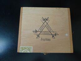 "Boîte En Bois De Cigares Joyitas Cuba, Boîte Vide ""Monte Cristo Habana"" - Boites à Tabac Vides"