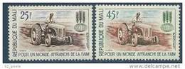 "Mali YT 45 & 46 "" Contre La Faim "" 1963 Neuf** - Malí (1959-...)"