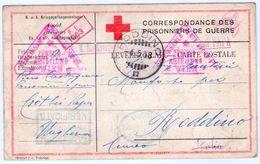 Prigionieri Di Guerra,cartolina Di Corrispondenza. - War 1914-18