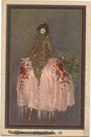 XW 3623 Ragazza Girl Femme Frau Chica - Illustrazione Illustration / Non Viaggiata - Women