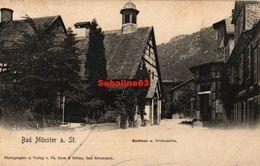 Bad Munster - Sudhaus Trinkquelle - Bad Muenster A. Stein - Ebernburg
