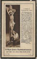DP. JOHANNA VAN DEN BOSCH ° DWORP 1838- + 1925 - Religione & Esoterismo