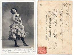 Miss Brown - Danse Du Cake-Walk - Cachet (119658) - Teatro