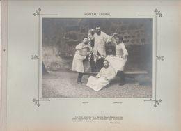 Hôpital ANDRAL Médecins  Et Personnels Nommés - Photo Argentique Format 18 X 13 Cm Sur Carton 29 X 23 - 1905 - Photos
