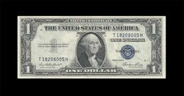 1935-E UNITED STATES SILVER CERTIFICATE $1 (( GEM UNC )) - Certificati D'Argento (1928-1957)