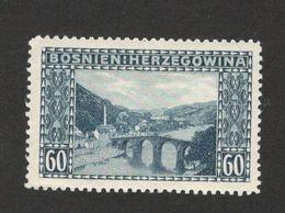 BOSNIA- MH STAMP , 60 H -1912. - Bosnien-Herzegowina