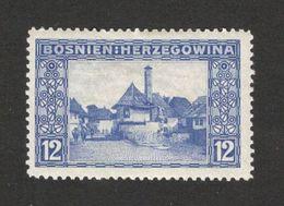 BOSNIA- MH STAMP , 12 H -1912. - Bosnien-Herzegowina