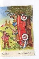 AMITIES DE JONZAC - CARTE FANTAISIE - Circulée En 1970 - - Jonzac