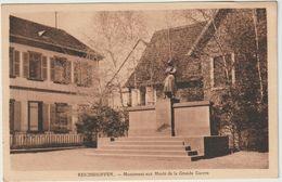 Bas  Rhin :  REICHSHOFFEN : Monument  Aux  Morts  D Ela  Grande  Guerre - France