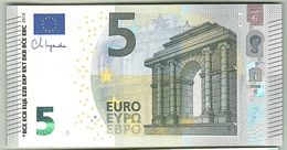 5 Euro Nuova Firma Ch.Lagarde Serie NC Austria Lastra N020 Unc - EURO