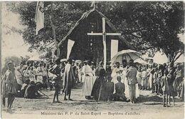 AFRIQUE - MISSIONS DES P.P. DU SAINT ESPRIT - BAPTEME D'ADULTES - Nombreuses Personnes - Cartoline