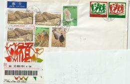 Chine. China  2001. Recommandé Pour La Pologne - 1949 - ... Repubblica Popolare