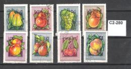 Hungary 1954 Fruits - Frutta