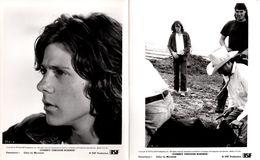 2 Grandes Photos Originales De Promotion Journey Through Rosebud 1971 Par Tom Gries.  Robert Forster And Katharine Ross - Berühmtheiten