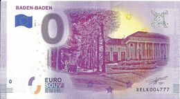 BS-48 - ALLEMAGNE - Baden-Baden 2019-1 - EURO