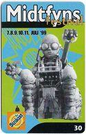 Denmark - Tele Danmark (chip) - Midtfyns Festival - TDR023 - 06.1999, 30kr, 10.300ex, Used - Denmark