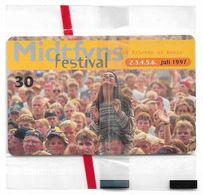Denmark - Tele Danmark (chip) - Midtfyns Festival 97 - TDS026 - 05.1997, 30kr, 10.300ex, NSB - Denmark