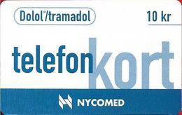 Denmark - Tele Danmark (chip) - Nycomed - TDP114 - 02.1997, 10kr, 2.000ex, Used - Denmark