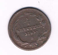 1/2  KREUTZER 1781 S   OOSTENRIJK /6128/ - Austria