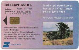 Denmark - Tele Danmark (chip) - The Moors Of Jutland - TDD038 - 10.2000, 50kr, 25.000ex (Actual Print Run), Used - Denmark